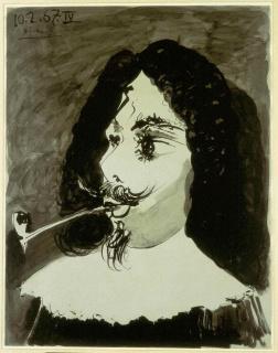 Pablo Picasso — Cortesía del Museo de Bellas Artes de Asturias
