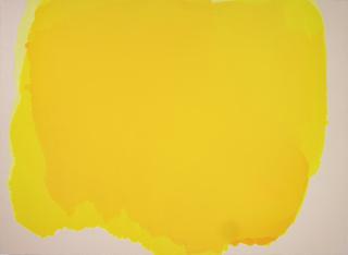 Rubén Rodrigo. Cadmio V. 2018. Óleo sobre lino 180 x 250 cm. — Cortesía de Galería El Museo