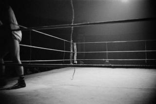 Ramón Massats. Ring. Neutral Corner, 1962. Cortesía de la Colección de Fotografía Alcobendas