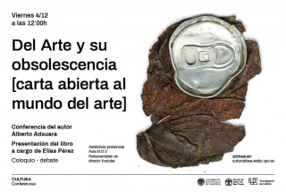 Del Arte y su obsolescencia (Carta abierta al mundo del Arte post-pandemia)