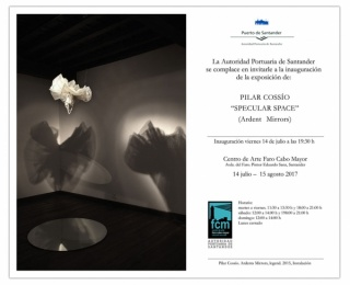 Pilar Cossío. Specular Space (Ardent Mirrors)