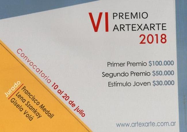 VI Premio ArtexArte 2018. Imagen cortesía ArtexArte