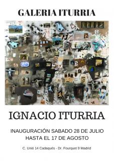 Ignacio Iturria. Imagen cortesía Galería Iturria Cadaqués