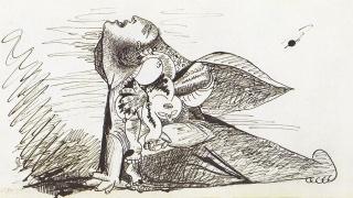 Los 42 estudios sobre papel para el Guernica de Pablo Picasso