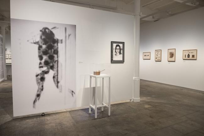 Foto de sala. Exposición 'Laia Abril. On Abortion'  © Georgina Armadàs