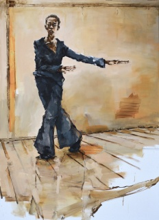 Gabriel Schmitz, Bach (La Maga), 180x130cm. — Cortesía de la galería Jordi Barnadas
