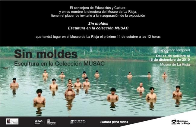 Sin moldes. Escultura en la Colección MUSAC - Invitación