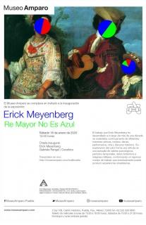 Erick Meyenberg. Re Mayor No Es Azul - Invitación