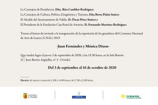 Juan Fernández y Mónica Dixon - Invitación