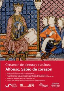 Cartel certamen Alfonso, Sabio de corazón