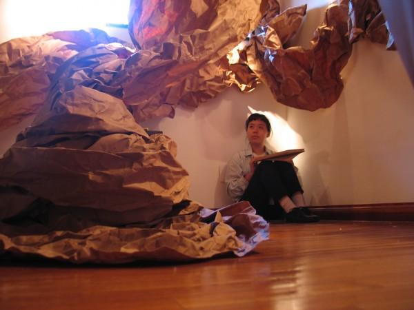 Hera Chan, artista de Canadá con orígenes chinos, realizó su residencia durante el 2014