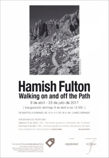 Hamish Fulton. Walking on and off the Path
