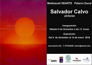 Salvador Calvo. Pinturas