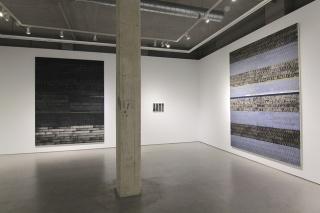 Vista de la exposición. Cortesía Galería Moisés Pérez de Albéniz