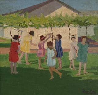 Recreo, c.1924 Petrona Viera (1895-1960) Óleo - Tela 86 x 90 cm