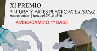 XI Premio de Pintura y Artes Plásticas La Rural