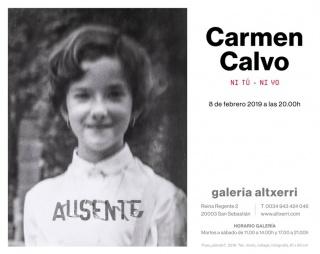 Carmen Calvo. Ni tú - ni yo