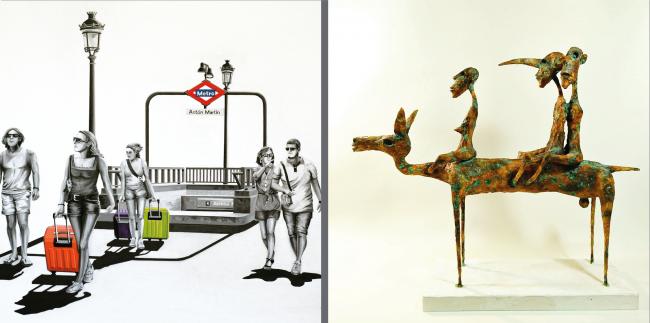 Edmundo Sanz Gadea // Julián Ortiz Domínguez — Cortesía de Montsequi Galería de Arte