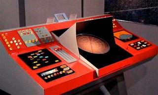 Ad Minoliti, Transporter room (1966) Star Trek original series — Cortesía de Kunsthalle Lissabon