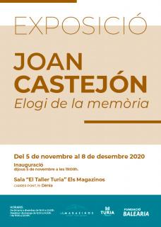 Joan Castejón. Elogi de la memòria