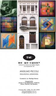 Anselmo Piccoli, Rigurosa armonía