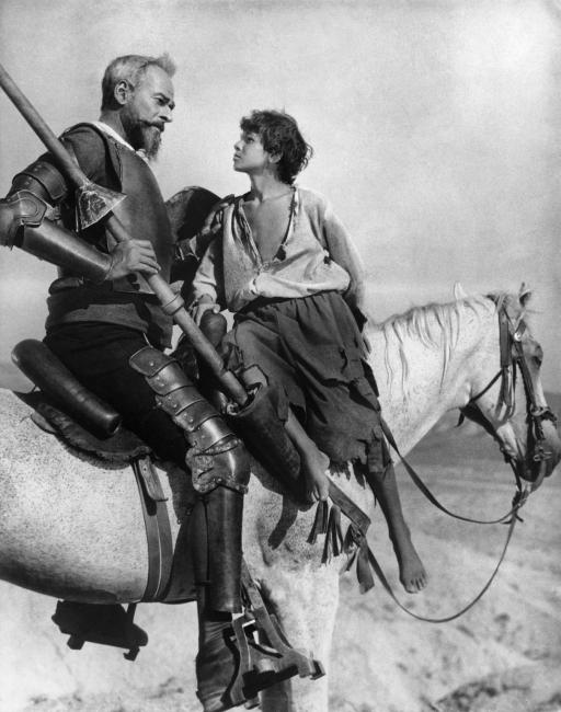 Cervantes En la cinta del tiempo Don Kikhot, de Grigori Kozintsev, 1957 – Cortesía de la Comunidad de Madrid