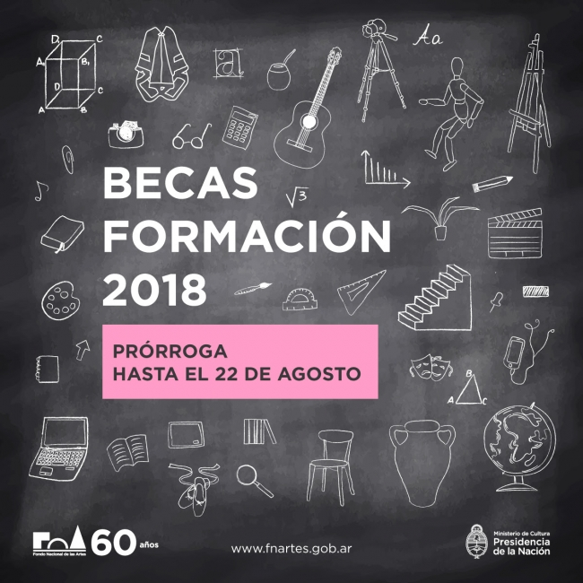 Becas Formación 2018