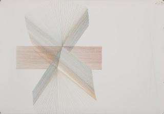 Ernesto Garcia Sánchez, Untitled, 2018, crayon on arches, 31.5 x 44.88 in. Imagen cortesía Art Circuits
