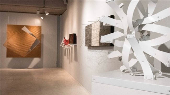 Vista de la exposición — Cortesía de la galería Odalys