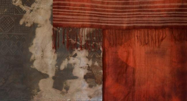 © Javier Arce, Lo que no se puede mirar se convierte en imagen, detalle (Handira roja Azilal), 2018. Cortesía del artista & Bienal de Fotografía de Córdoba