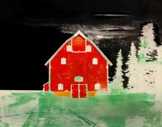 Miguel Gómez Losada, Escandinavia, 2018, óleo sobre lino, 92x73 cm. — Cortesía de la Galería Birimbao
