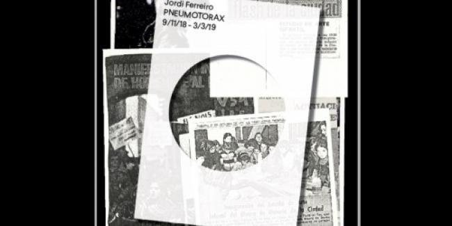 Jordi Ferreiro. Neumotórax. Una perforación en el archivo-pulmón del Museu Nacional — Cortesía del MNAC
