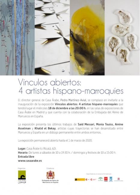 Vínculos abiertos: 4 artistas hispano-marroquíes