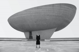 Untitled, from Roja series, 2016, Shirin Neshat. Courtesy of Gladstone Gallery, New York and Brussels and Goodman Gallery, London