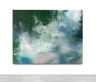 Hugo Fontela. Green painting — Cortesía de la Galería Marlborough