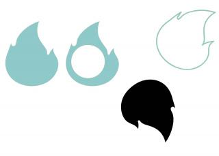 fuego/ hueco / sombra / aire