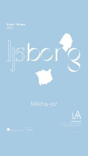 Ijsberg. Cartel de la exposición en Sala LAi