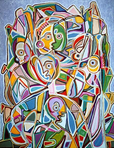Pintura 160 x 200 cm