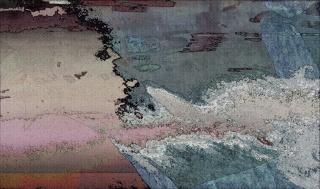 "Corriente invasora ""Vertidos fluviales"", 2015 (Pigment print en papel)"