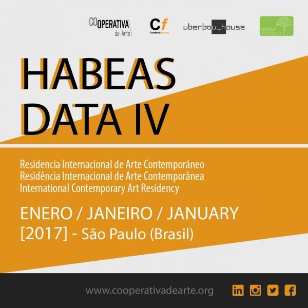 HABEAS DATA IV - Residencia Internacional de Arte Contemporáneo