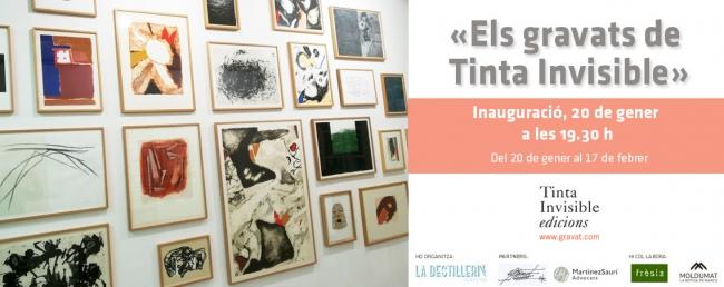 Els gravats de Tinta Invisible