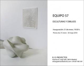 Equipo 57. Esculturas y dibujos