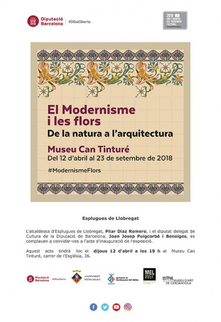 El modernisme y les flors. De la natura a l'arquitectura