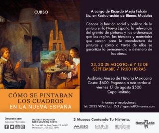 ¿Cómo se pintaban los cuadros en la Nueva España?