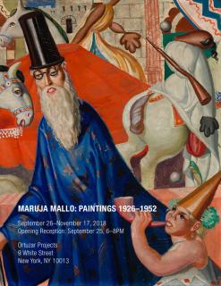 Maruja Mallo, El Mago / Pim Pam Pum (detail), 1926. © Ortuzar Projects, New York