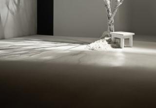 Sin título XXI. de la serie Cercar el silencio. 106 x 121 cm