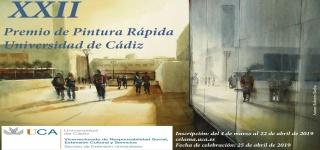 XXII Premio de Pintura Rápida en la Universidad de Cádiz - Autor de la imagen: Roberto Barba — Cortesía de la Universidad de Cádiz