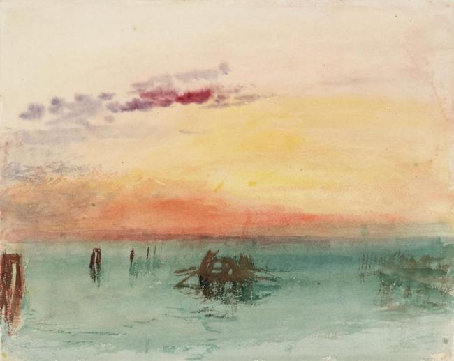 J.M.W. Turner. Acuarelas. Tate Collection
