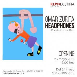 Invitación Headphones por Omar Zurita