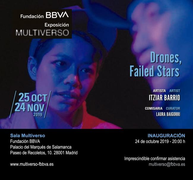 Itziar Barrio. Drones, failed stars